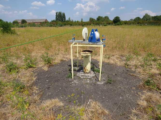 Juillet-aout 2018 : Diagnostic de 64 piézomètres dans le bassin houiller du Nord Pas- de-Calais photo2